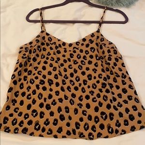 A new day leopard top